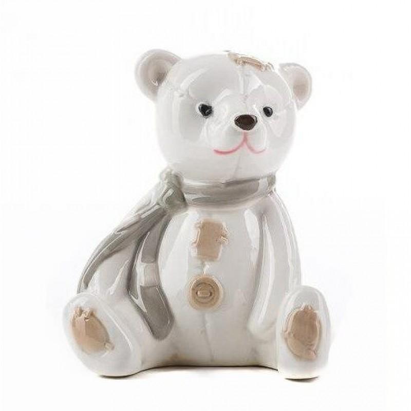 HC-13040 (54) Медведь, из фарфора, 8.5*8*10см