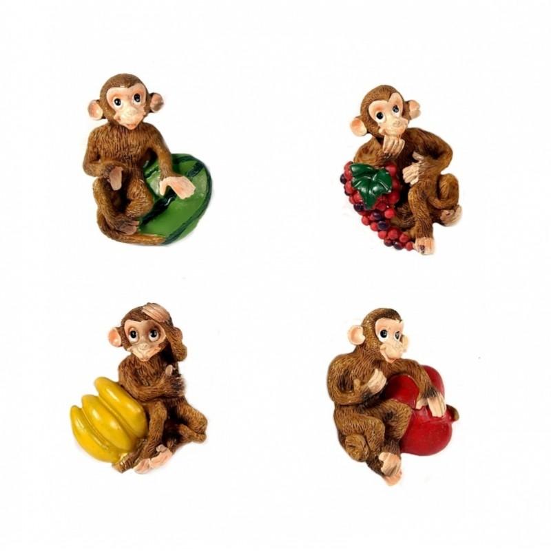 L50990  (12-576) Магнит обезьяна 5*2*5,5см