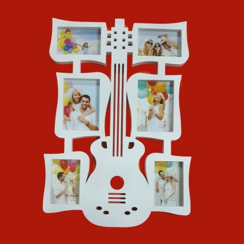 Фотоколлаж  Ат- 275  (16) 6ф. гитара 48*67см