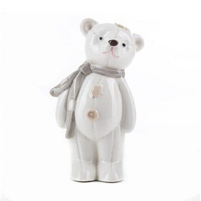 HC-13039 (72) Медведь, из фарфора, 6.5*6*13.5см
