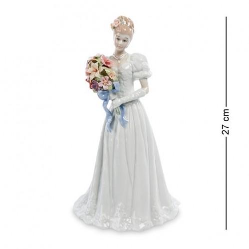 CMS-10/20 Фигурка ''Невеста с цветами'' (Pavone) 27см