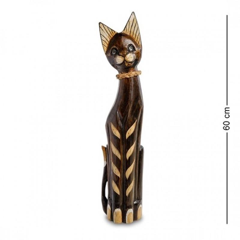 99-076 Фигурка Кошка 60см (албезия, о.Бали)