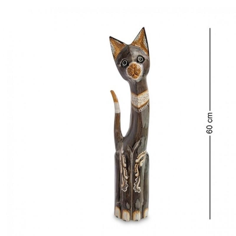 99-229 Статуэтка ''Кошка'' 60 см (албезия, о.Бали)
