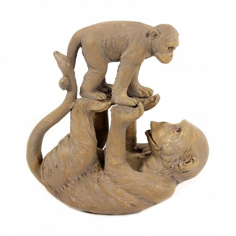 EVE50309  (1-24) Играющие обезьянки 13.5*6.5*13.5см