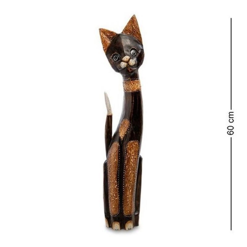 99-097 Фигурка Кошка 60см (албезия, о.Бали)