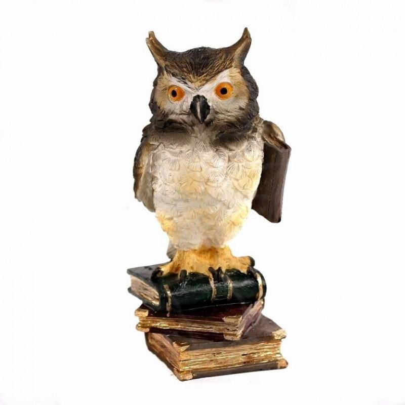 HOL18729  (1-36) Фигурка Сова на книжке  7*7*15см