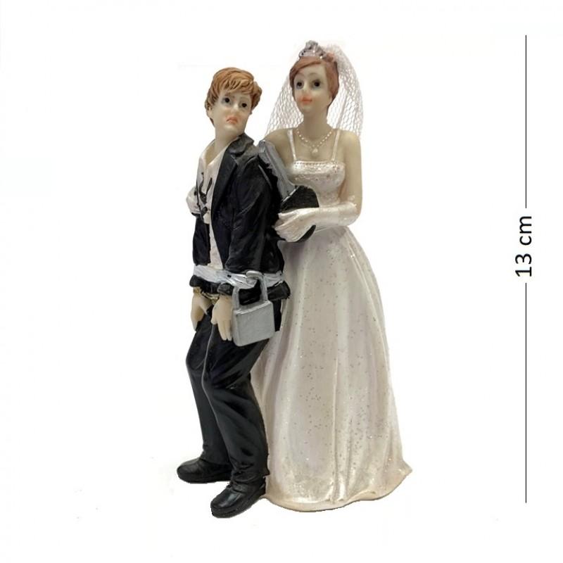 046003  (4-96) Статуэтка Свадебная пара  7*6*13 см