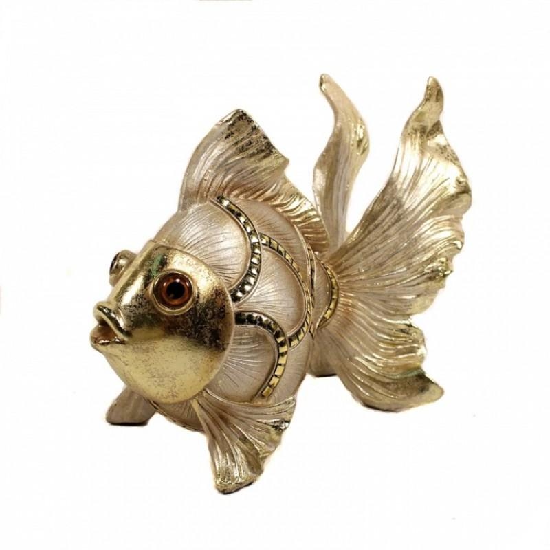 F-PK10337  (6) Рыбка зол. 27*13*22см