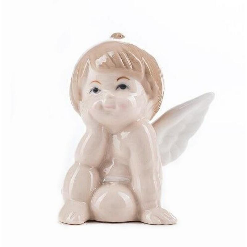 HC-13042 (96) Ангел, из фарфора, 7.3*6*8.5см