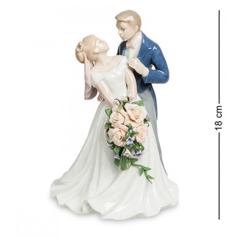 JP- 15/48 Статуэтка  ''Венчальный день'' (Pavone) 18см