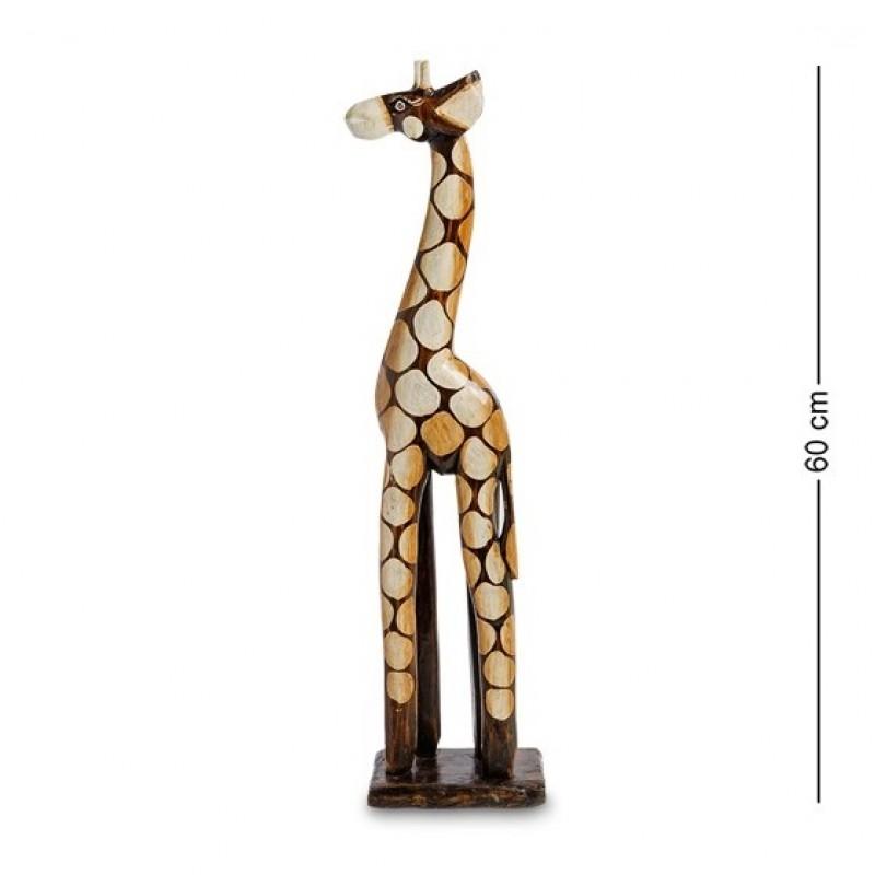 99-393 Статуэтка ''Жираф'' 60 см (албезия, о.Бали)