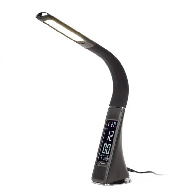 Настолная лампа LED с электронными часами  30*7*18cm S-001-H