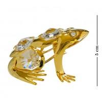 Swarovski 3407 Фигурка Лягушка с кристаллами 5*5*3см