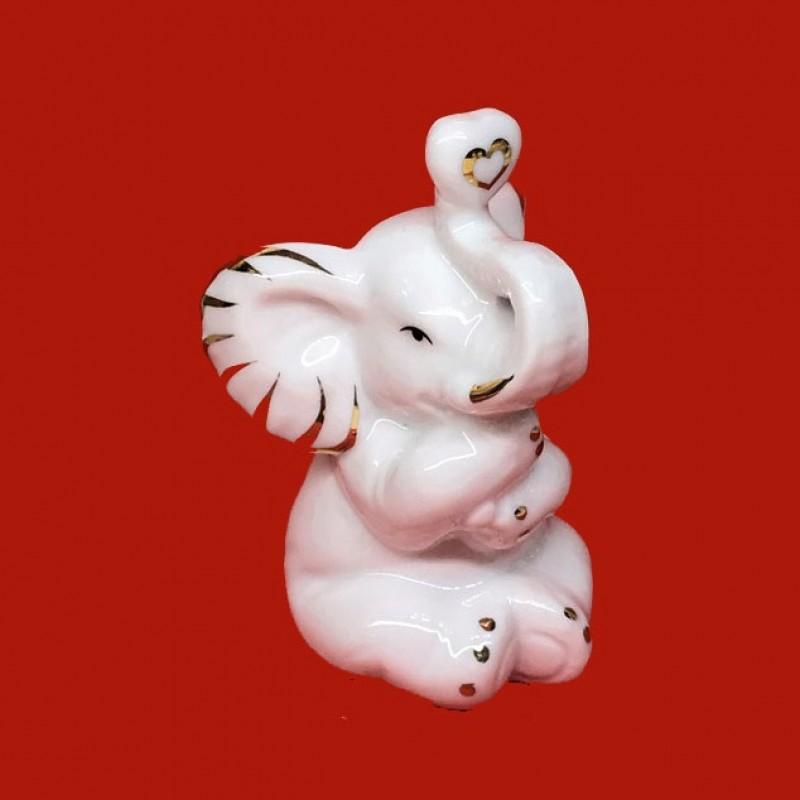 DIN3084  (1-96) Слон с сердечком 7*6*9см