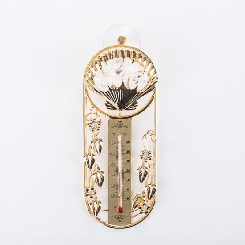 Swarovski 3733 Фигурка Термометр на присоске с ракушкой, 6,5*2,5*16см