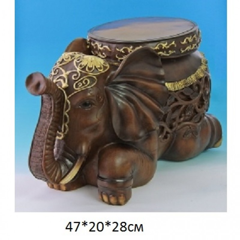 PW-130702*  (1) Слон-стул 47*20*28см
