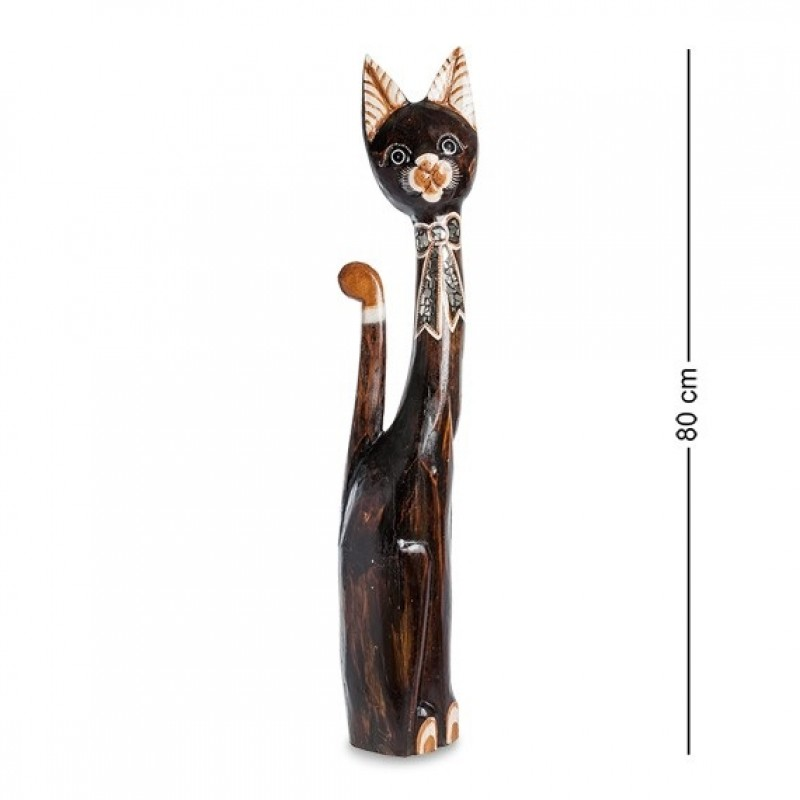 99-124 Фигурка Кошка 80см (албезия, о.Бали)