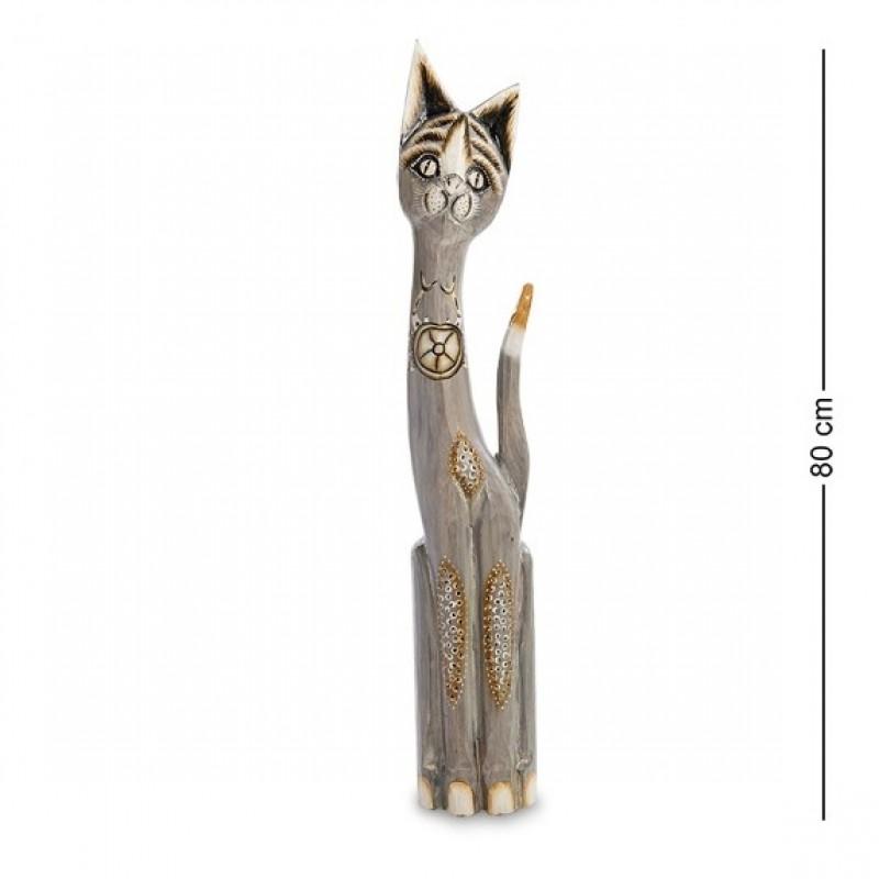 99-221 Статуэтка ''Кошка'' 80 см (албезия, о.Бали)