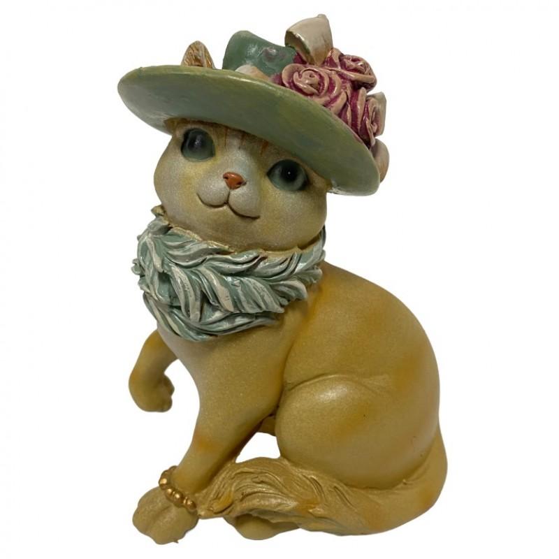 L53704  (1-24) Кошка в одежде 10*8*14 см